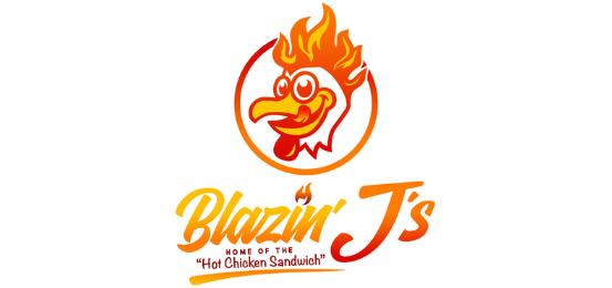 Blazin J's Logo