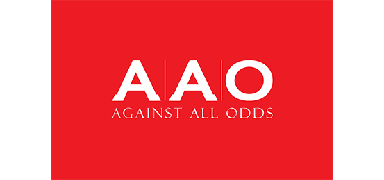 AAO Against All Odds                     Logo