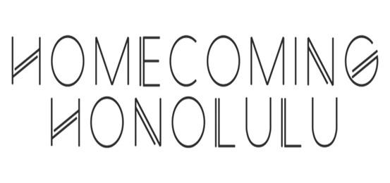 ホームカミング・ホノルル Logo