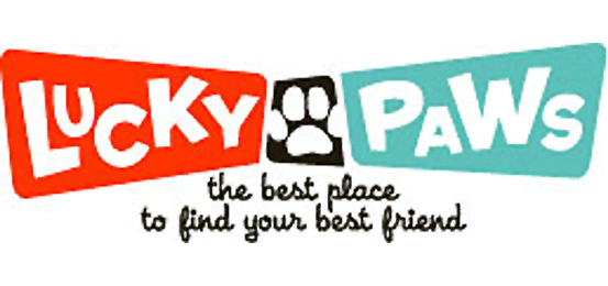 Lucky Paws Pet Adoption Center Logo