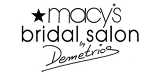 Macy's Bridal Salon by Demetrios Logo