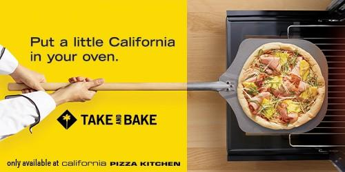 Put a little California in your oven! from California Pizza Kitchen
