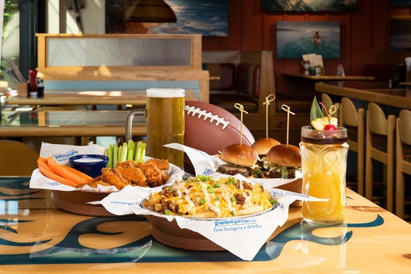 Pro Football Happy Hour from Islands Fine Burgers & Drinks