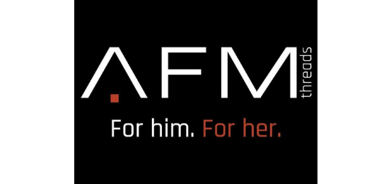 Afm Threads For Him. For Her Logo