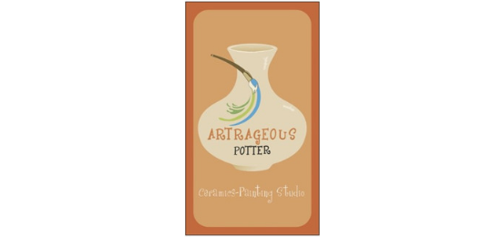 Artrageous Pottery Logo