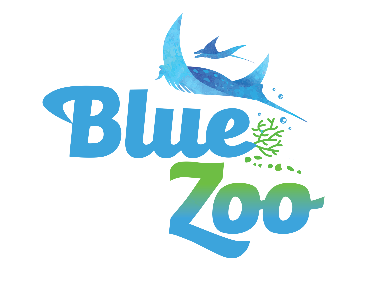 Blue Zoo Aquarium Logo