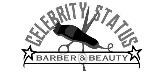 Celebrity Status Beauty & Barber Logo