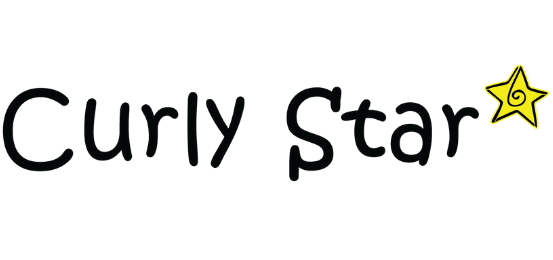 Curly Star Logo