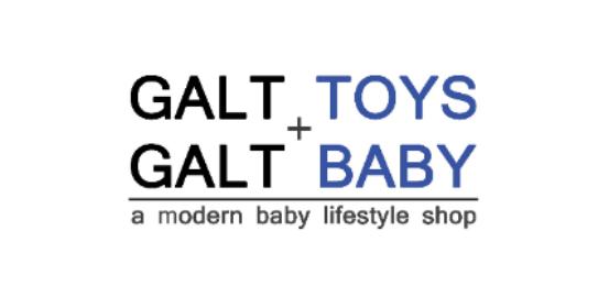 Galt Toys + Galt Baby Logo