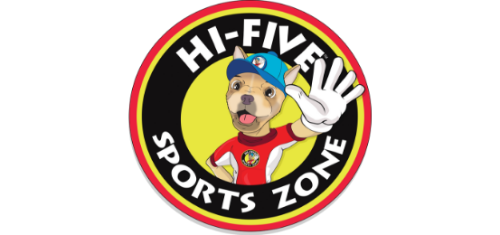 Hi-Five Sports Zone Logo