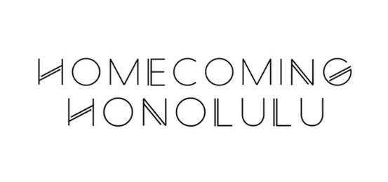 Homecoming Honolulu                      Logo