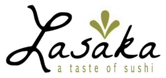 Lasaka A Taste Of Sushi Logo