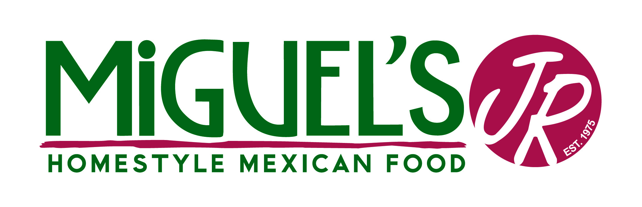 Miguel's Jr Homestyle Mexican Food       Logo