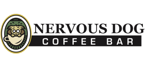 Nervous Dog Coffee Bar Logo