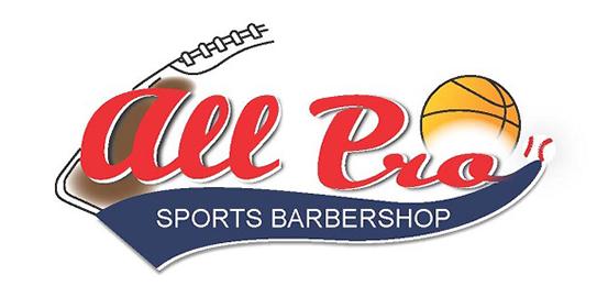 All Pro Sports Barbershop Logo