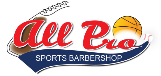 All Pro Sports Barbershop                Logo