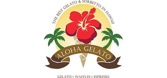 アロハ・ジェラート Logo