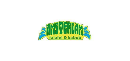 AMSTERDAM falafel & kabob Logo