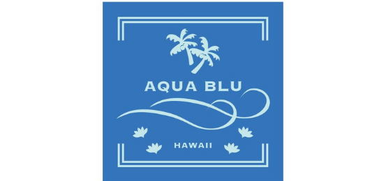 アクアブルー Logo