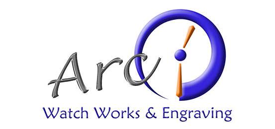 Arc Watch Works & Engraving Logo