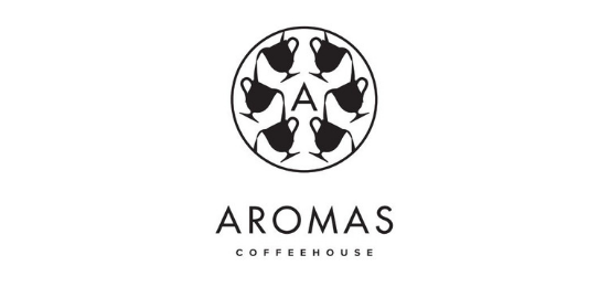 AROMAS COFFEEHOUSE Logo