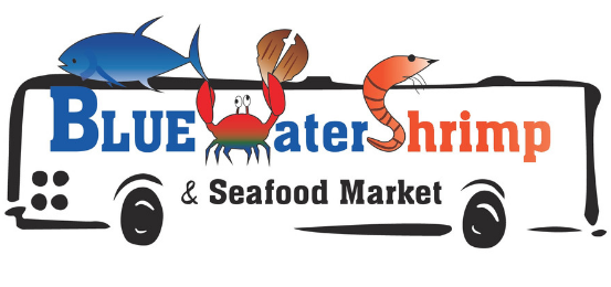 Blue Water Shrimp                        Logo