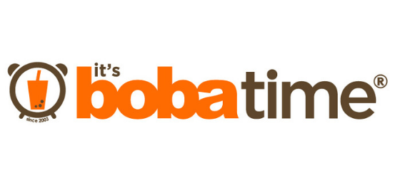 It's Boba Time                           Logo
