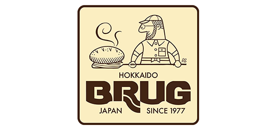 브루그 훗카이도 베이커리 Logo