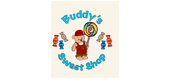 Buddy's Sweet Shop Logo