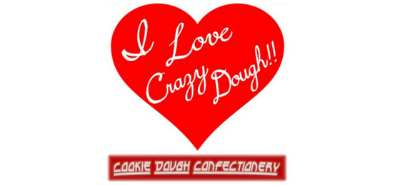 I Love Crazy Dough Logo