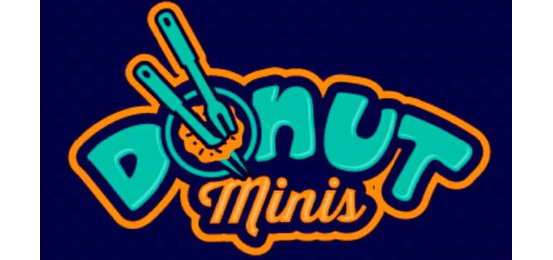 Donut Minis! Logo