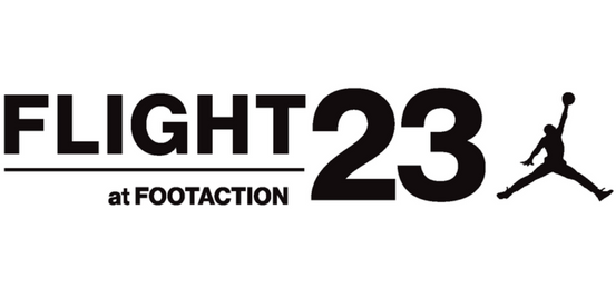 Flight 23 at Footaction Logo