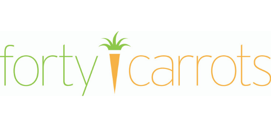 Forty Carrots                            Logo