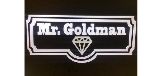 Mr. Goldman                              Logo