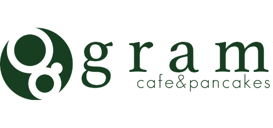 Gram-Cafe & Pancakes Logo