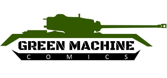 Green Machine Comics Logo