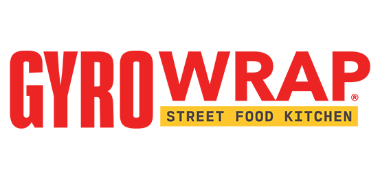 Gyro Wrap, Street Food Kitchen Logo