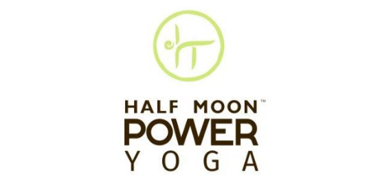Half Moon Power Yoga Logo