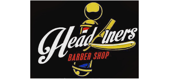 Headliner's Barber Shop                  Logo