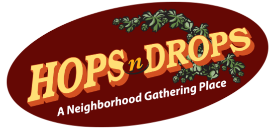 Hops N Drops A Neighborhood Gathering Pl Logo
