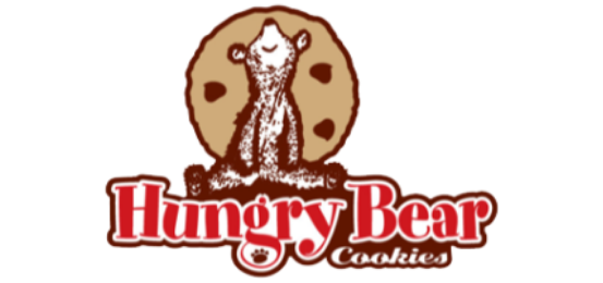 Hungry Bear Cookies Logo