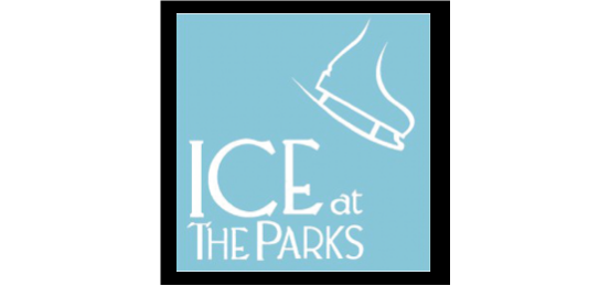 The Ice at the Parks Logo