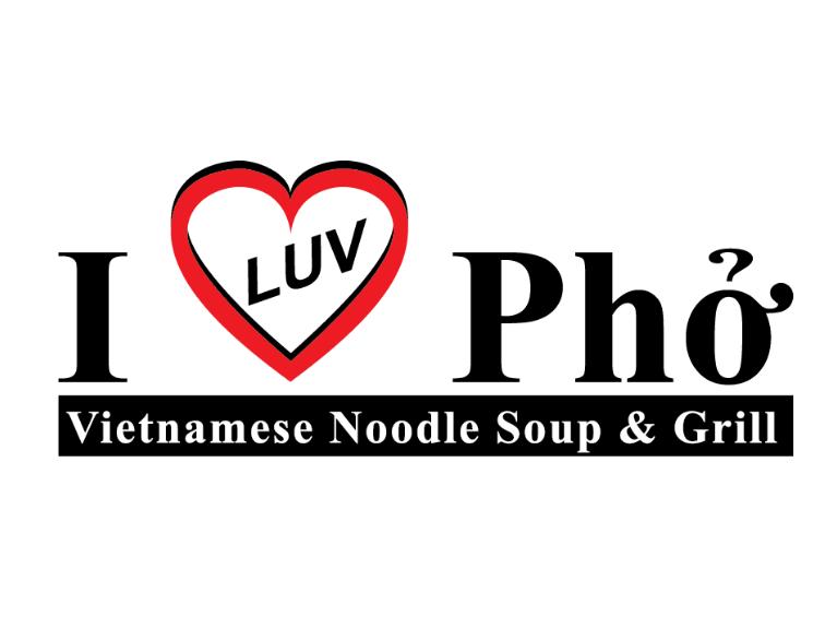 I Luv Pho                                Logo