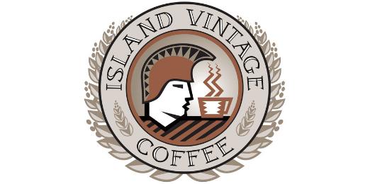 Island Vintage 咖啡 Logo