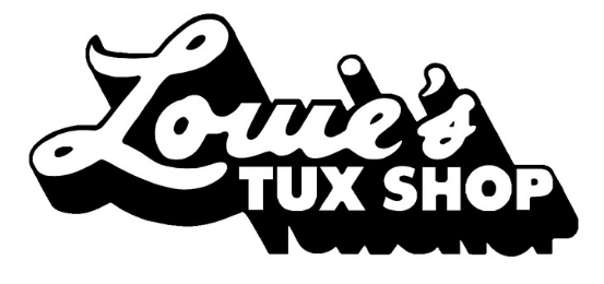 Louie's Tux Shop Logo