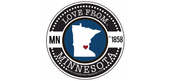 Love From Minnesota                      Logo