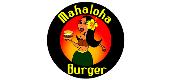 마할로하 버거 (Mahaloha Burger) Logo