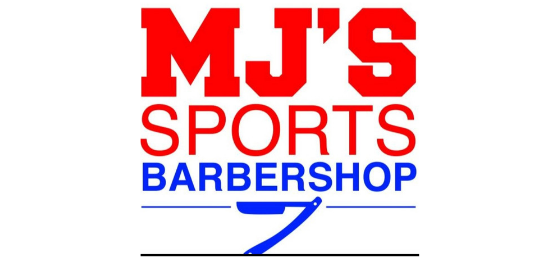 MJ's Sports Barbershop Logo