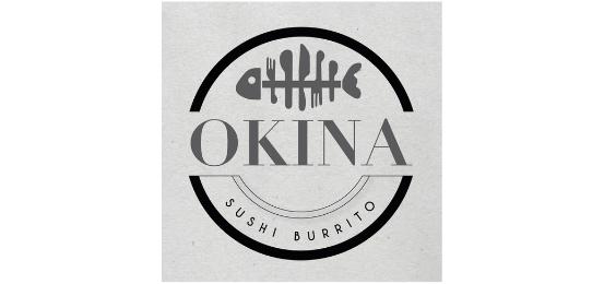 Okina Sushi Burrito Logo