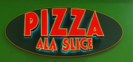 Pizza Ala Slice                          Logo
